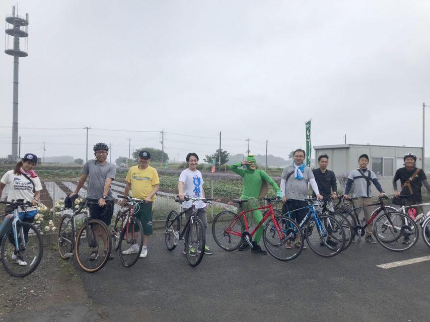 牛久沼一周ライドクロスバイク試乗会行いました!