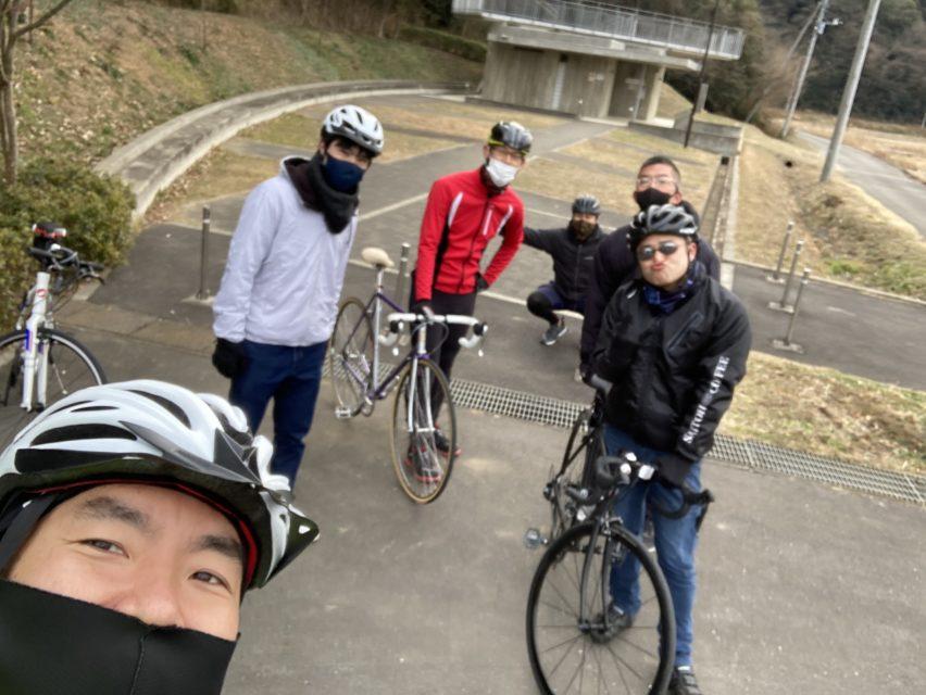 牛久沼一周新春サイクリング走ってきました!