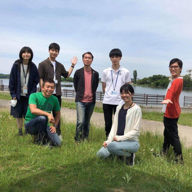 筑波大の皆さんに牛久沼の観光についてお話させていただきました。