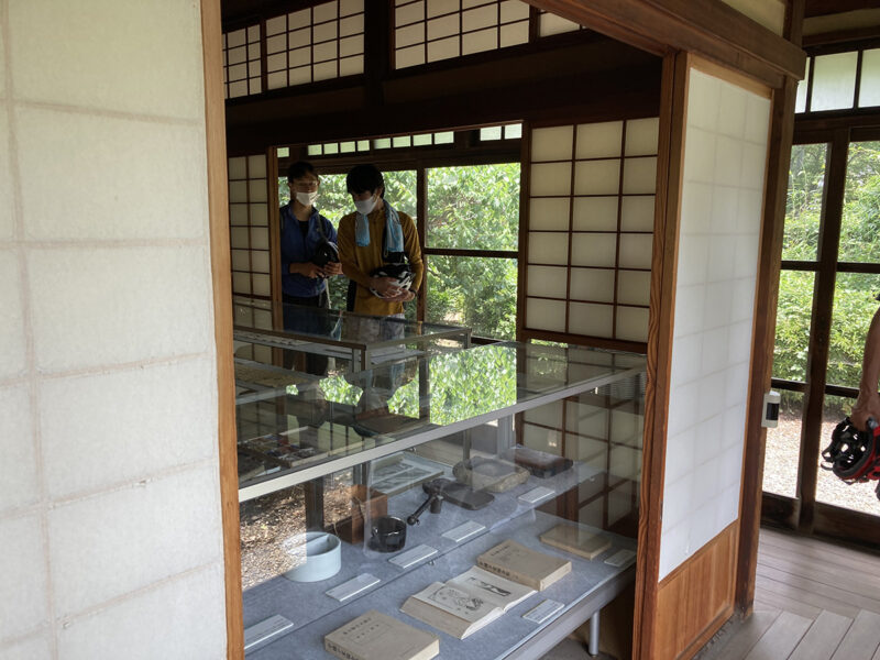 ゆるポタ 小川芋銭 雲魚亭2