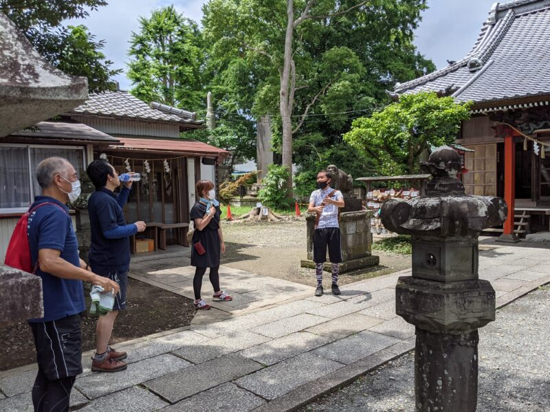 ゆるポタ 龍ケ崎 八坂神社02