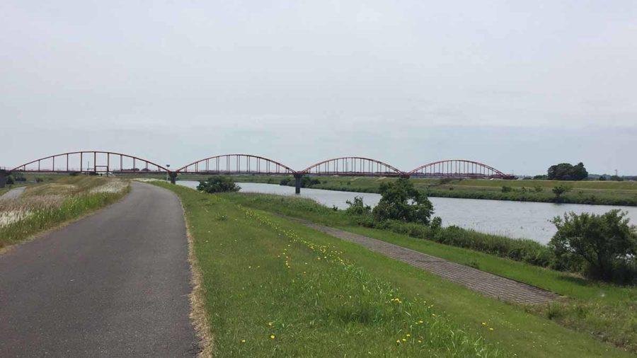 小貝川と龍ケ崎の街並みサイクリングルート【初心者向き】公開しました!